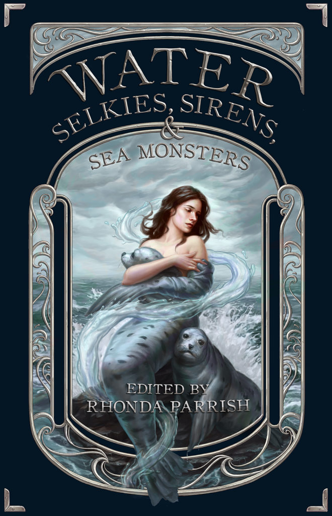Book Cover Selkies Sirens Sea Monsters
