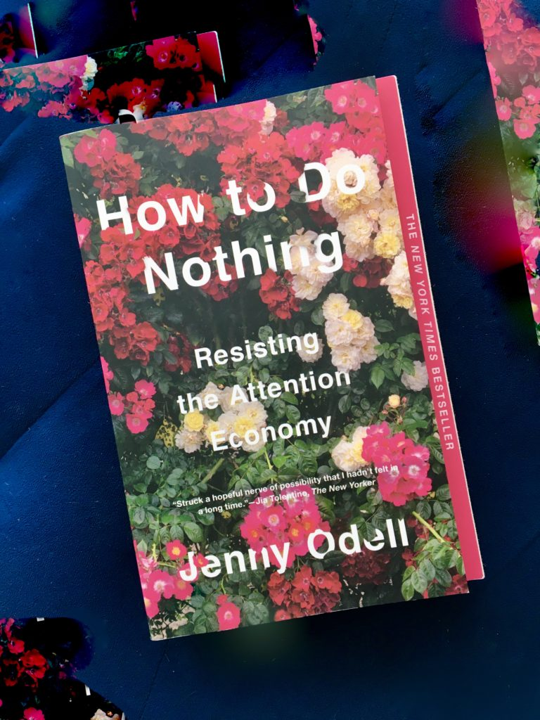 Book: HOW TO DO NOTHING